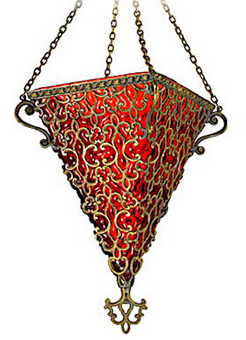 Turkish hanging lamp