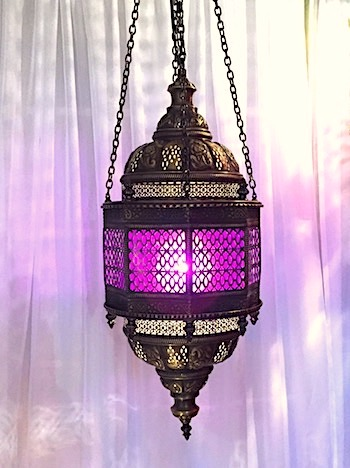 Classic Turkish hanging lamp