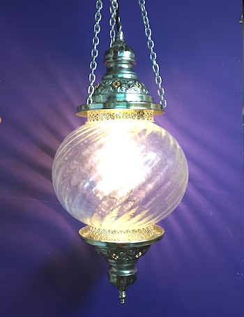 Turkish pendant lamp