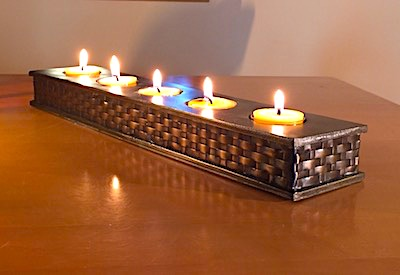 Moroccan tealight holder